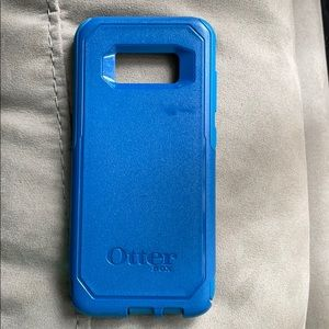Blue OtterBox for galaxy S8